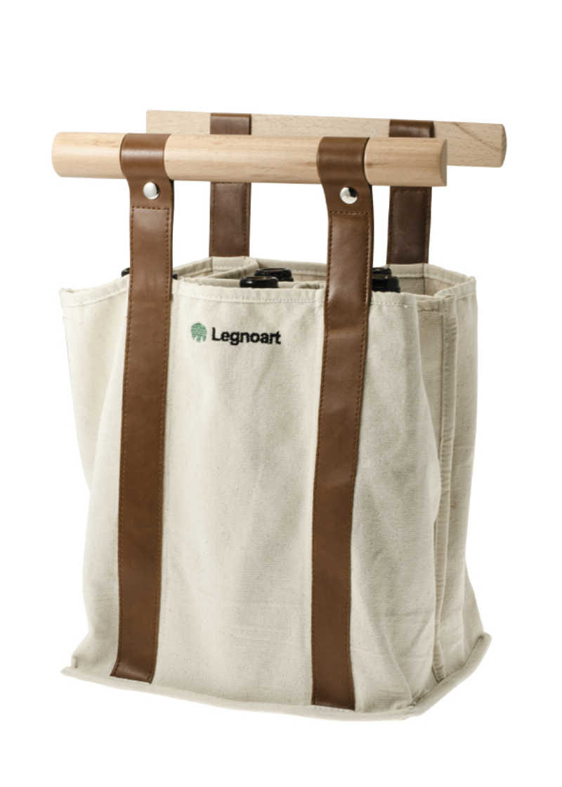 Legnoart Bottles Carrier Bag