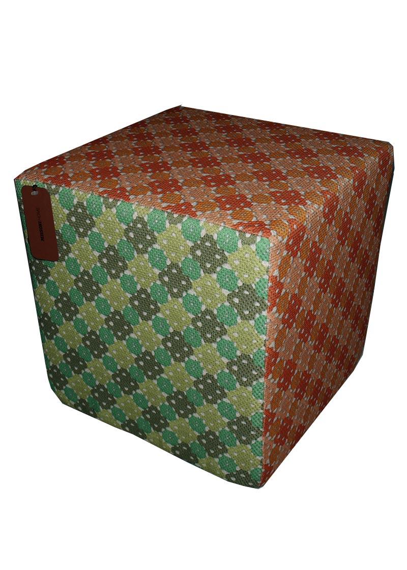 missoni home pouf orange green cuccalofferta. Black Bedroom Furniture Sets. Home Design Ideas