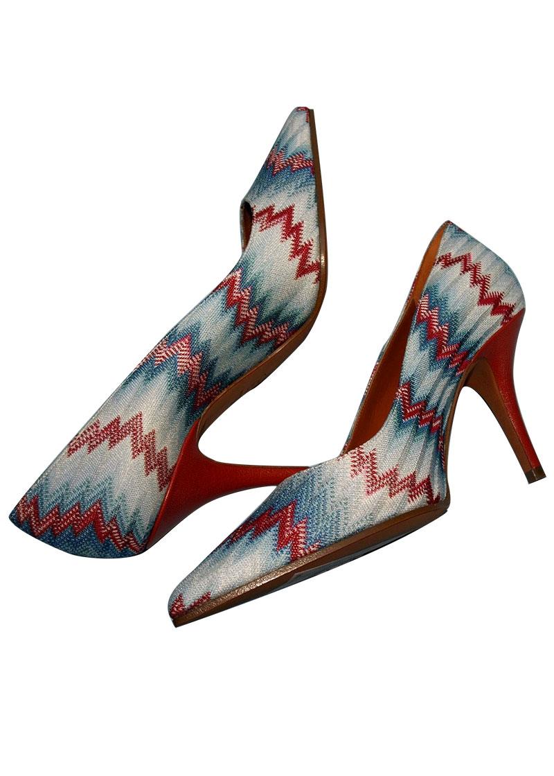 missoni shoe in textile for cuccalofferta