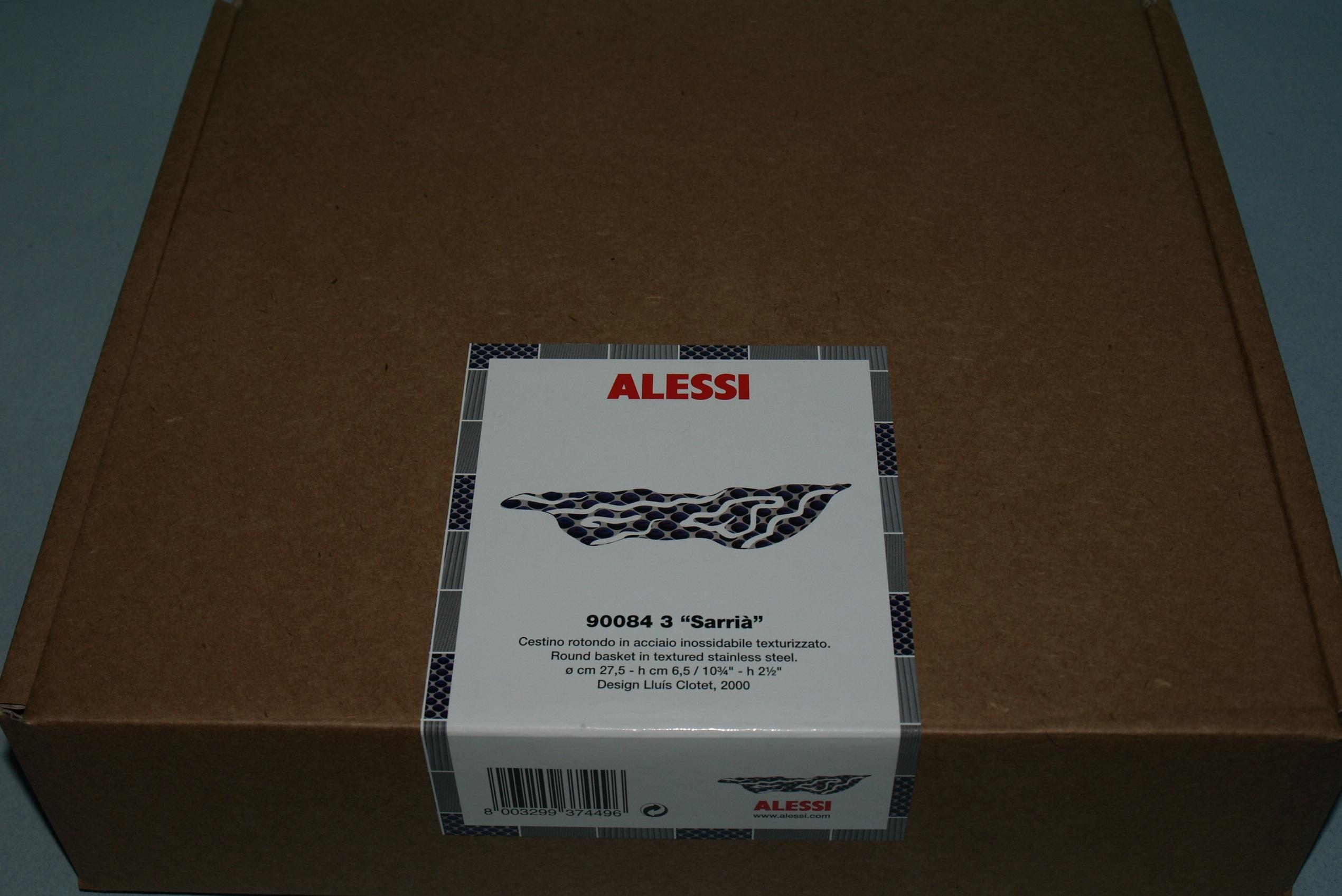 Alessi round basket sarria 3 cuccalofferta for Alessi outlet
