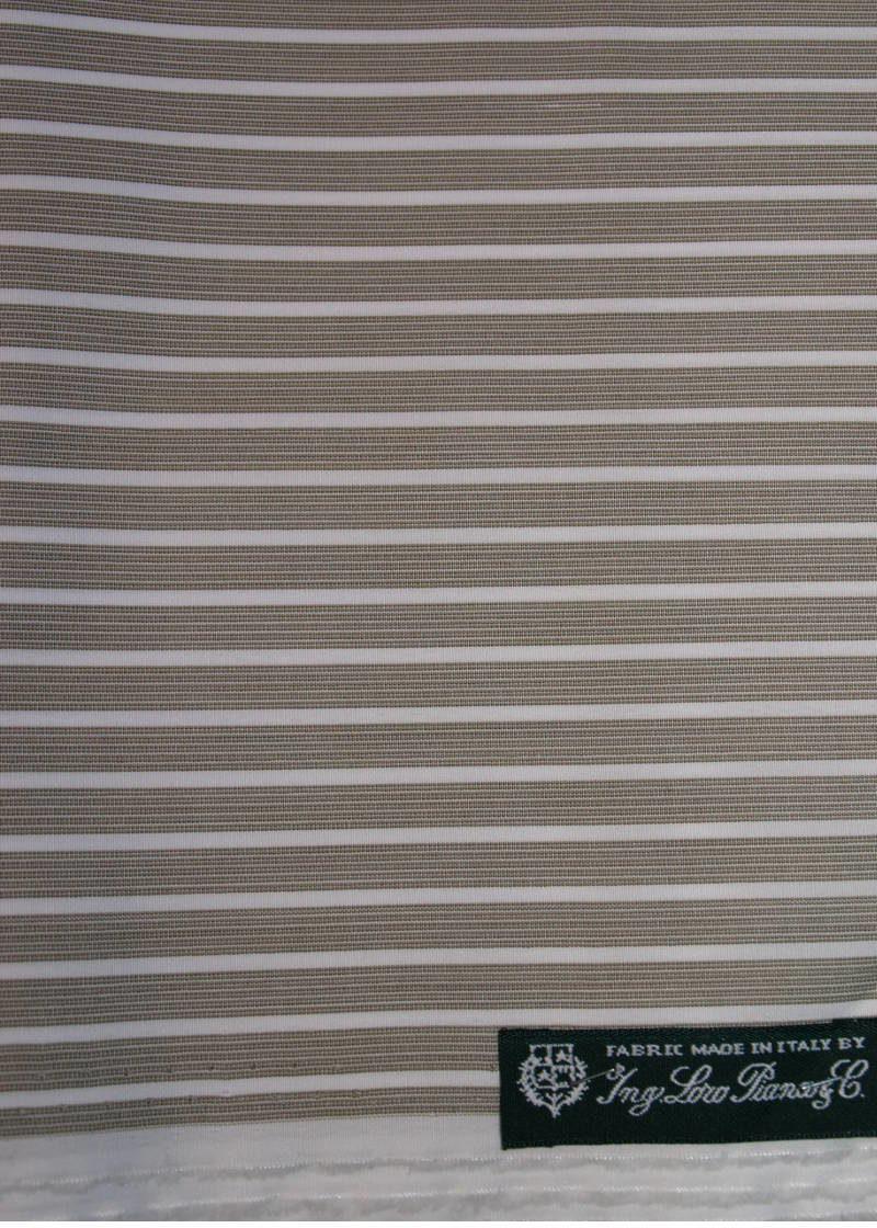 Loro Piana Fabric Shirt Dark Beige Cotton
