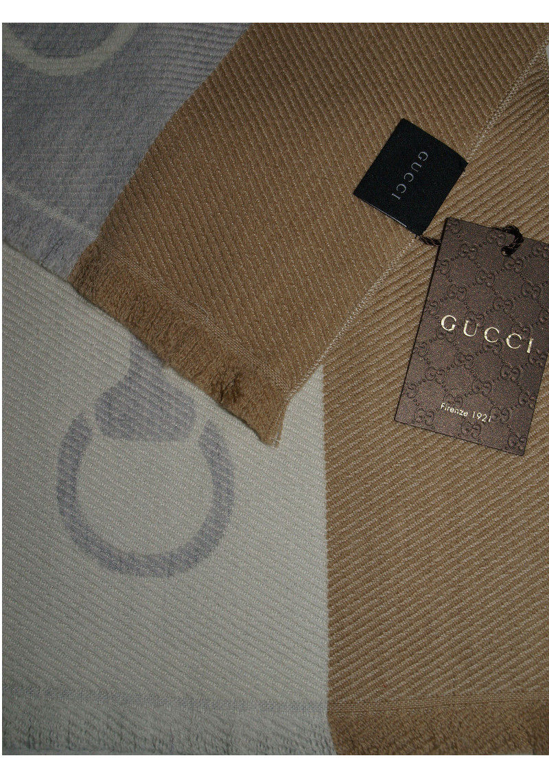 Gucci Beige Scarf