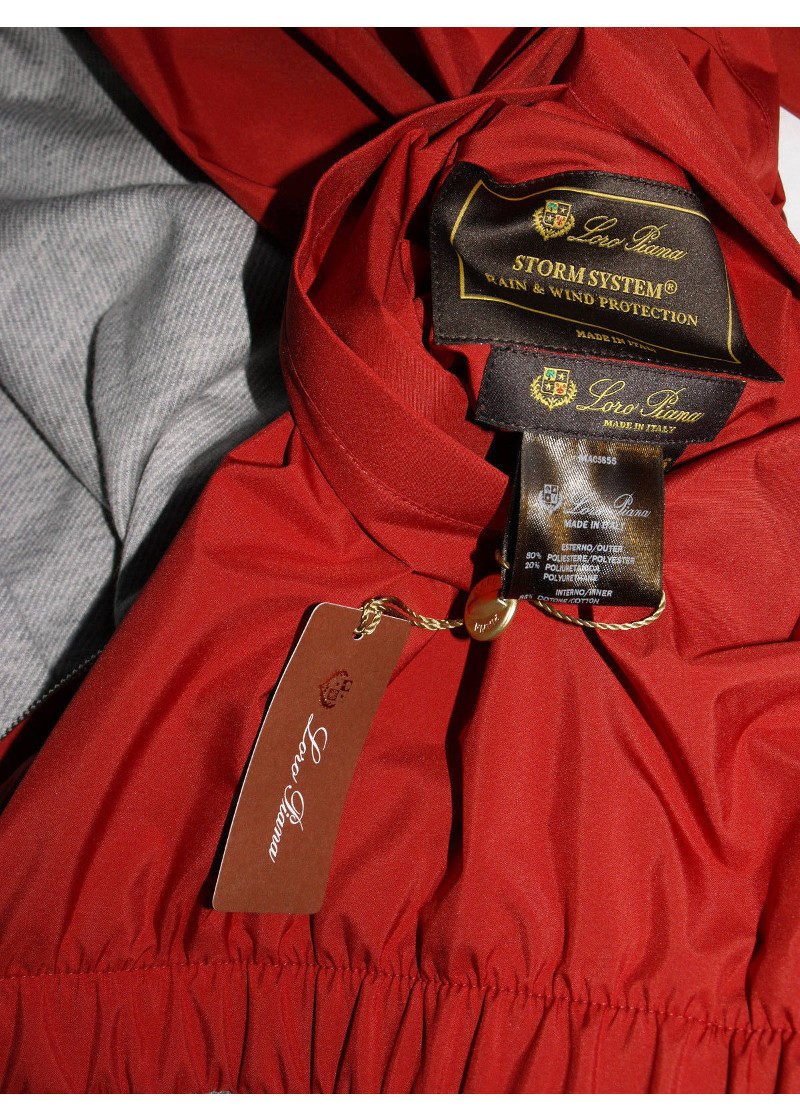 Loro Piana Bomber Red Jacket