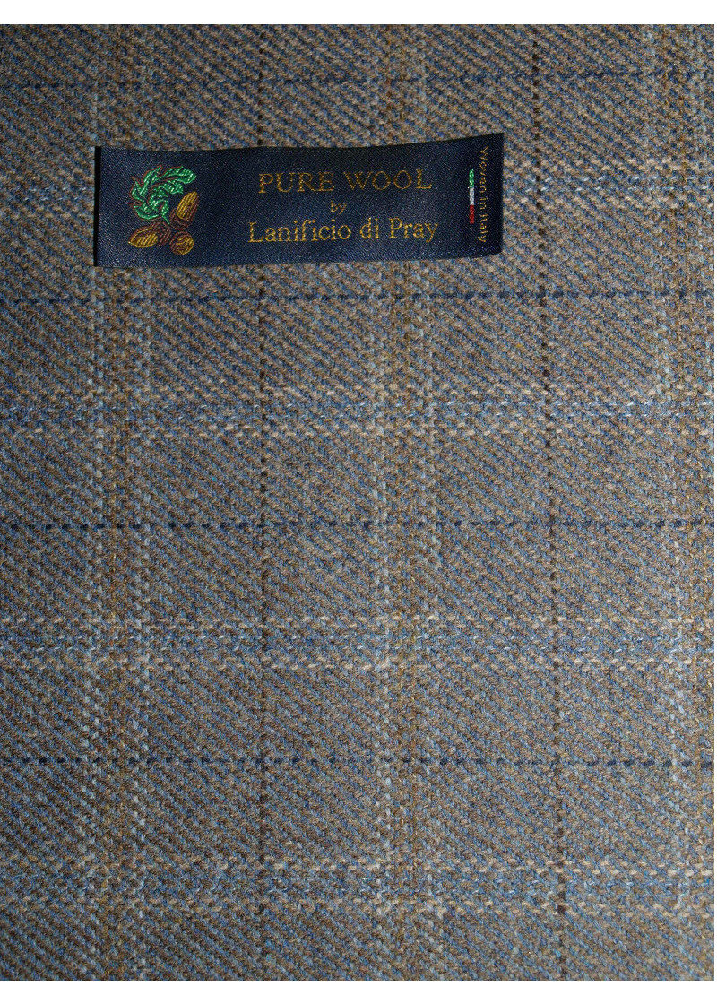 Fabric Brown Pure Wool