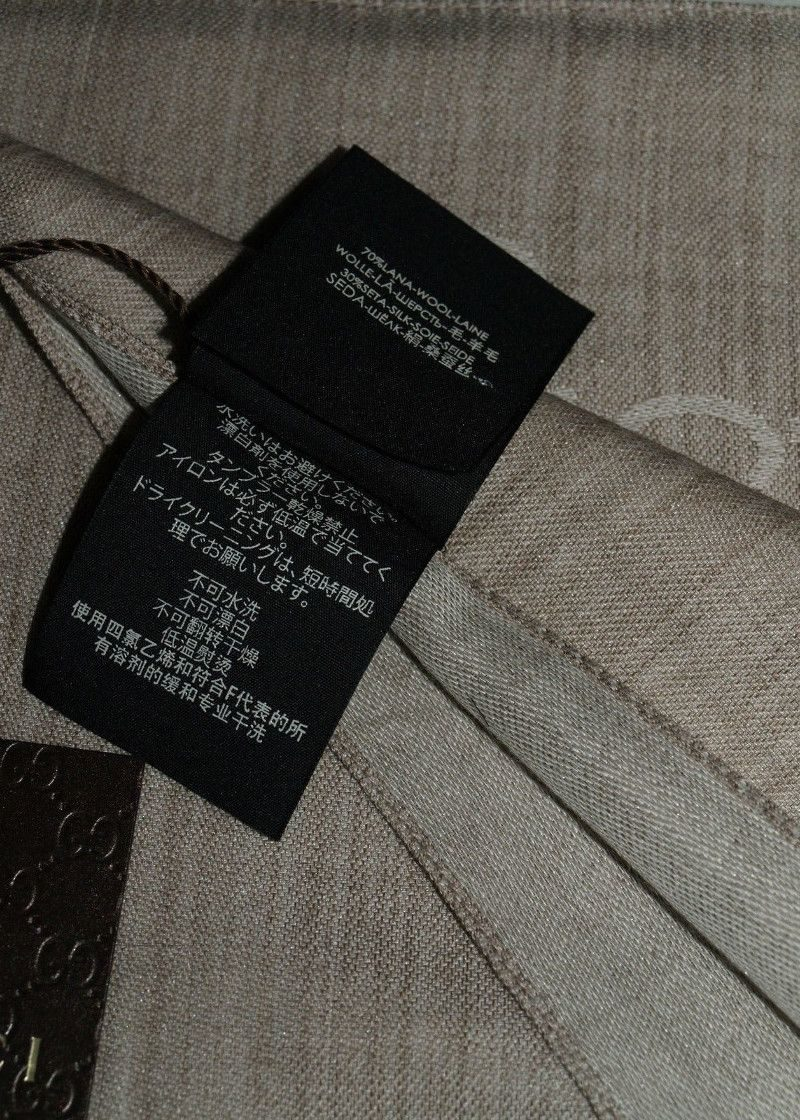 gucci wool scarf